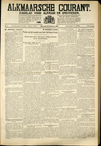 Alkmaarsche Courant 1937-02-22