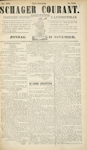 Schager Courant 1881-11-13