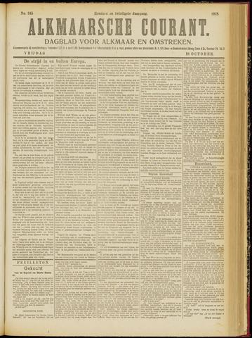 Alkmaarsche Courant 1918-10-18