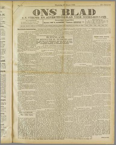 Ons Blad : katholiek nieuwsblad voor N-H 1920-03-29