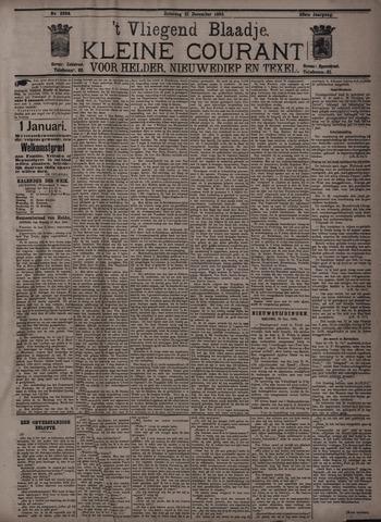 Vliegend blaadje : nieuws- en advertentiebode voor Den Helder 1895-12-21