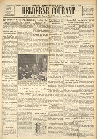 Heldersche Courant 1949-09-17