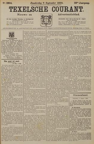 Texelsche Courant 1910-09-08