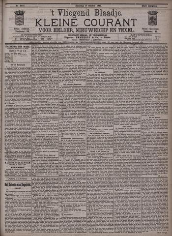 Vliegend blaadje : nieuws- en advertentiebode voor Den Helder 1897-10-09