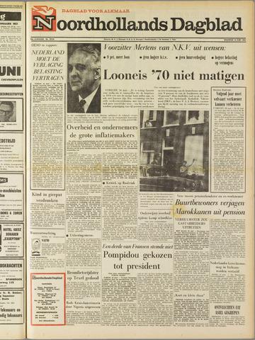 Noordhollands Dagblad : dagblad voor Alkmaar en omgeving 1969-06-16