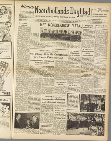 Nieuw Noordhollandsch Dagblad : voor Alkmaar en omgeving 1949-11-04