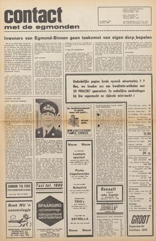 Contact met de Egmonden 1971-10-27