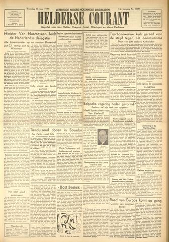 Heldersche Courant 1949-08-10