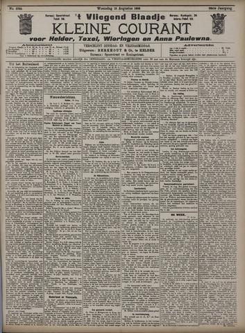Vliegend blaadje : nieuws- en advertentiebode voor Den Helder 1908-08-19