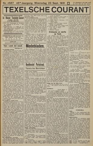 Texelsche Courant 1931-09-23