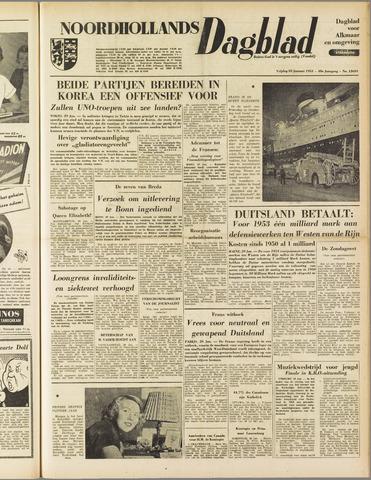 Noordhollands Dagblad : dagblad voor Alkmaar en omgeving 1953-01-30