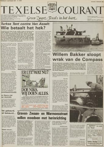 Texelsche Courant 1986-02-07