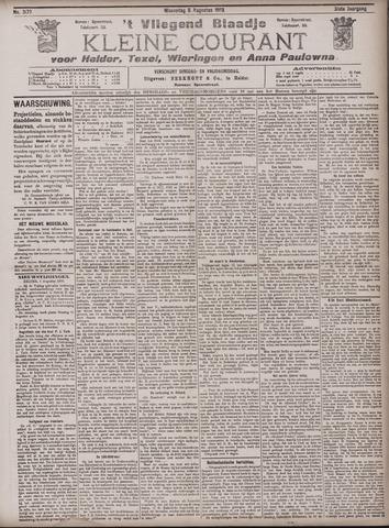 Vliegend blaadje : nieuws- en advertentiebode voor Den Helder 1903-08-05