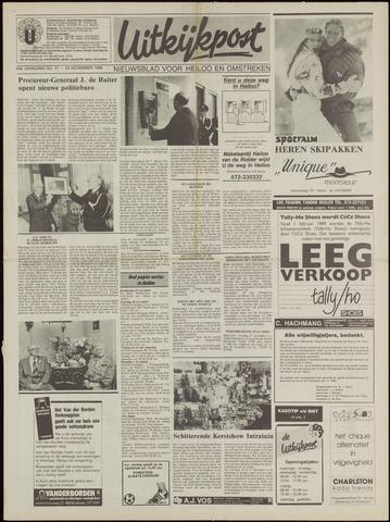 Uitkijkpost : nieuwsblad voor Heiloo e.o. 1988-11-23