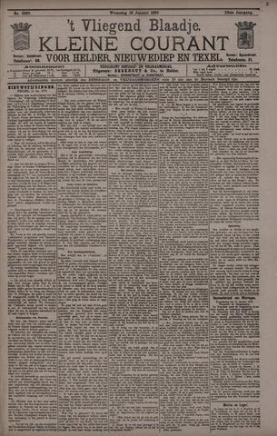 Vliegend blaadje : nieuws- en advertentiebode voor Den Helder 1895-01-16