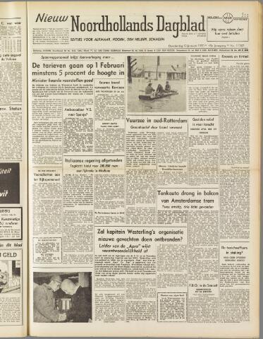 Nieuw Noordhollandsch Dagblad : voor Alkmaar en omgeving 1950-01-12