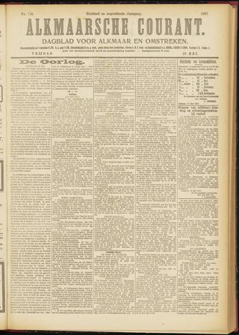 Alkmaarsche Courant 1917-05-18