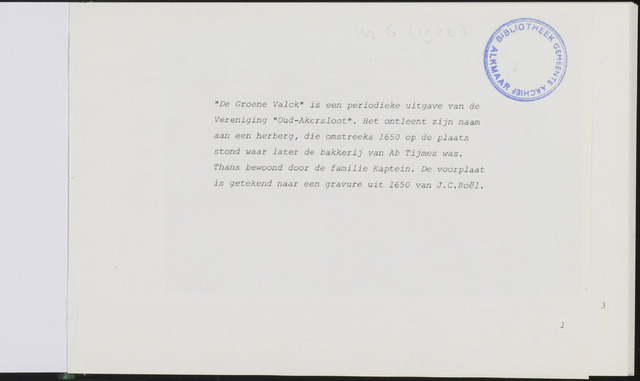 De Groene Valck 1983-01-01