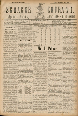 Schager Courant 1901-06-30