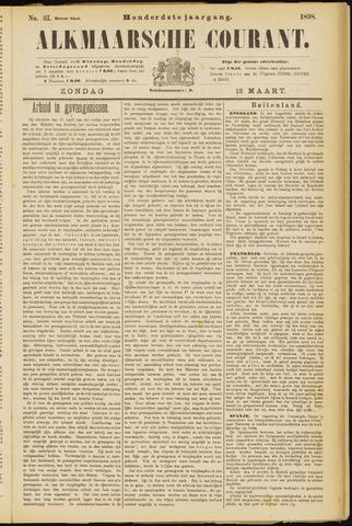Alkmaarsche Courant 1898-03-13
