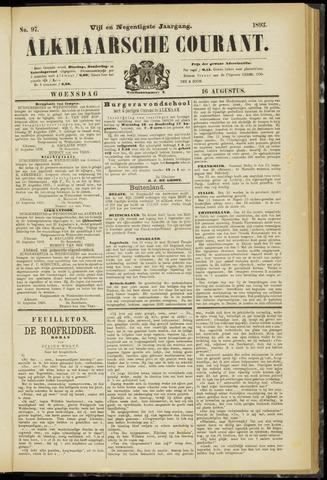 Alkmaarsche Courant 1893-08-16