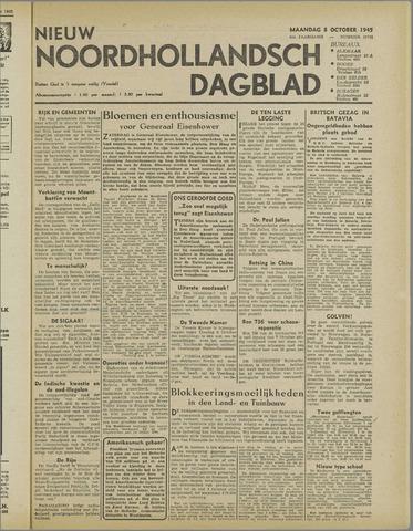 Nieuw Noordhollandsch Dagblad : voor Alkmaar en omgeving 1945-10-08