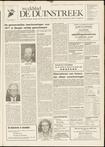 De Duinstreek 1970-12-17
