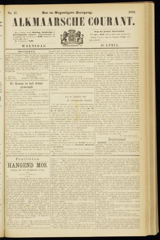 Alkmaarsche Courant 1894-04-18