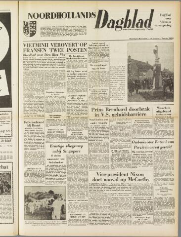 Noordhollands Dagblad : dagblad voor Alkmaar en omgeving 1954-03-15