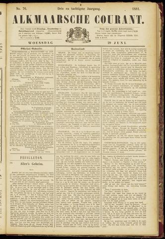 Alkmaarsche Courant 1881-06-29