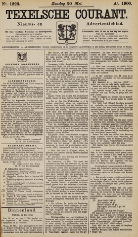 Texelsche Courant 1900-05-20