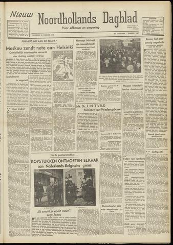 Nieuw Noordhollandsch Dagblad : voor Alkmaar en omgeving 1948-02-28