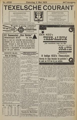 Texelsche Courant 1931-05-02