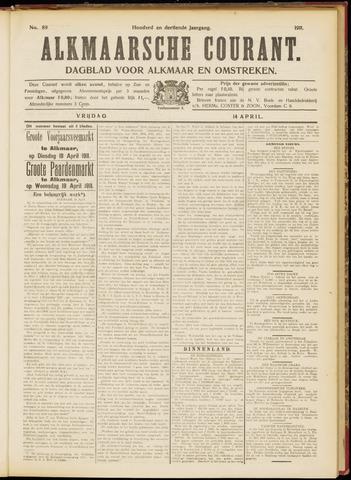 Alkmaarsche Courant 1911-04-14