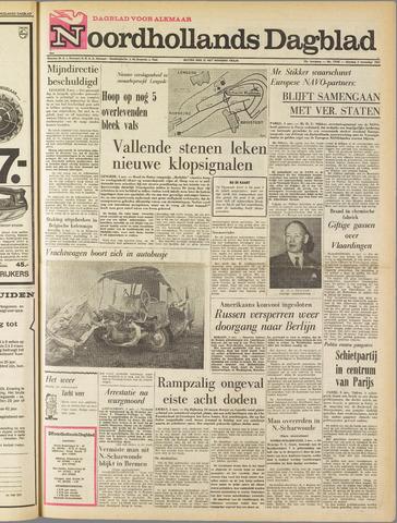 Noordhollands Dagblad : dagblad voor Alkmaar en omgeving 1963-11-05