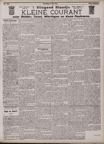 Vliegend blaadje : nieuws- en advertentiebode voor Den Helder 1904-05-28