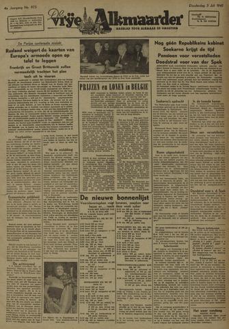 De Vrije Alkmaarder 1947-07-03