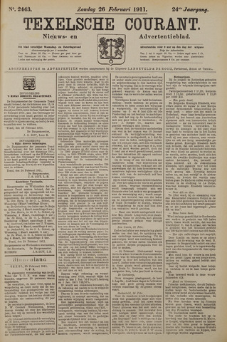 Texelsche Courant 1911-02-26