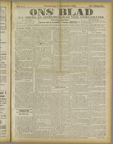 Ons Blad : katholiek nieuwsblad voor N-H 1919-12-11