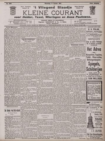 Vliegend blaadje : nieuws- en advertentiebode voor Den Helder 1902-10-15