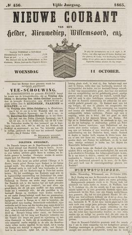 Nieuwe Courant van Den Helder 1865-10-11