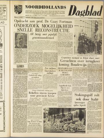 Noordhollands Dagblad : dagblad voor Alkmaar en omgeving 1960-12-28