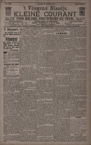 Vliegend blaadje : nieuws- en advertentiebode voor Den Helder 1894-12-29