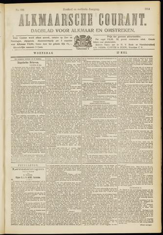Alkmaarsche Courant 1914-05-27