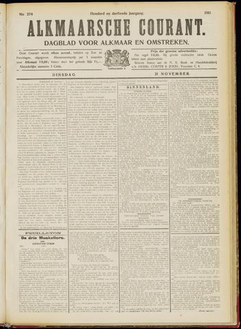 Alkmaarsche Courant 1911-11-21