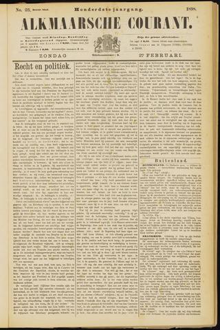 Alkmaarsche Courant 1898-02-27
