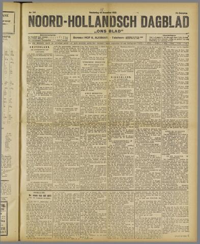 Ons Blad : katholiek nieuwsblad voor N-H 1922-12-14