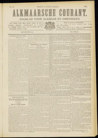 Alkmaarsche Courant 1914-04-23