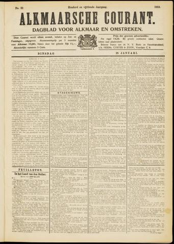 Alkmaarsche Courant 1913-01-28