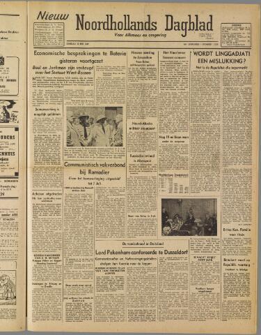 Nieuw Noordhollandsch Dagblad : voor Alkmaar en omgeving 1947-05-13